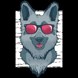 Cooler Schäferhund