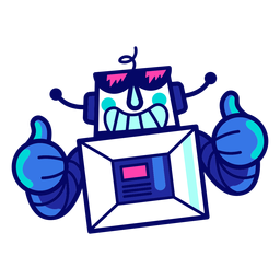 Kühler Roboter