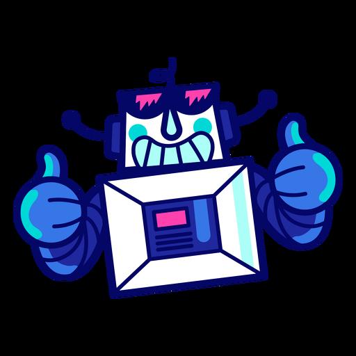 Cooler Roboter Transparent PNG