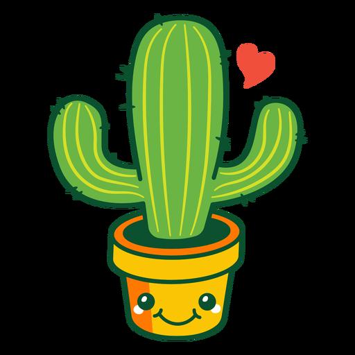 Süßer Kaktus Transparent PNG