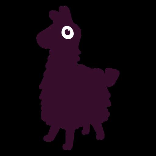 Llama silueta fortnite Transparent PNG