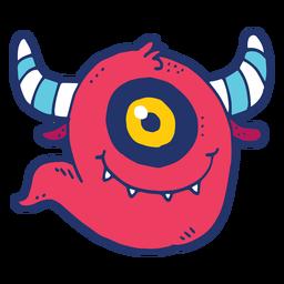 Doodle de monstro
