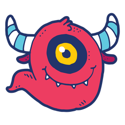 Doodle de monstruo
