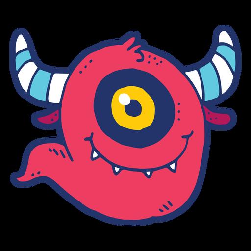 Monster Gekritzel Transparent PNG