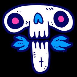 Doodle del cráneo