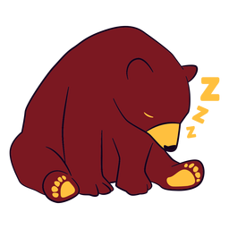 Oso dormido