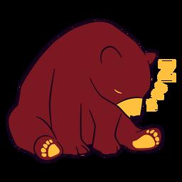 Schläfriger Bär