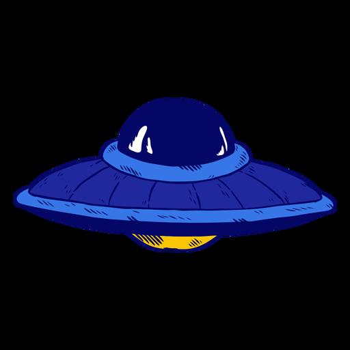 Nave espacial ovni Transparent PNG