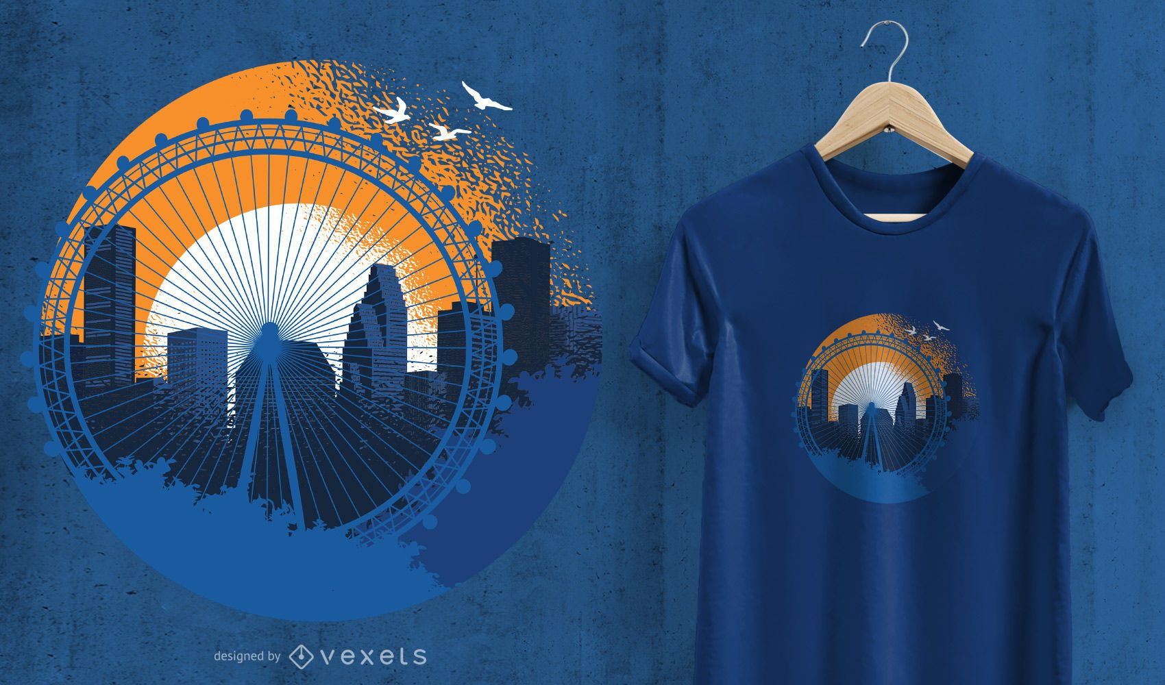 Houston T Shirt Design Vector Download