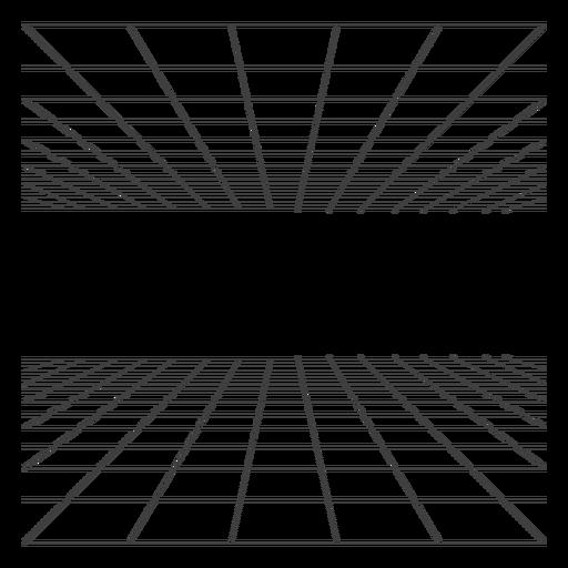 3d room grid design