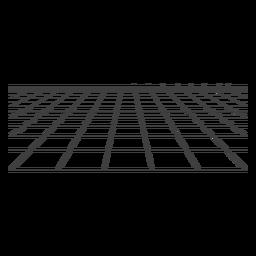 Raster der Oberfläche 3d