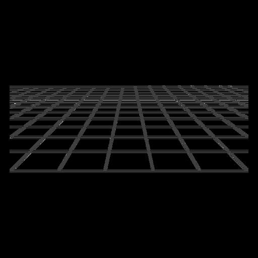 Rejilla de superficie 3d Transparent PNG