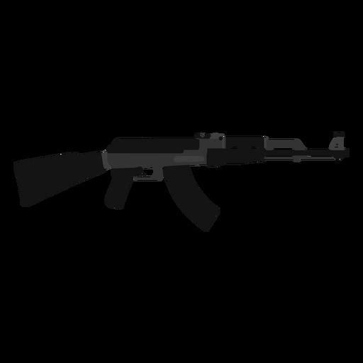 Icono de rifle de asalto Ak 47 Transparent PNG