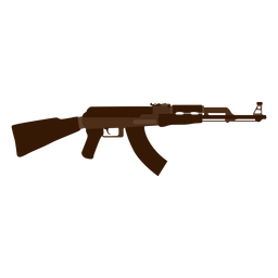 Ak 47 assault rifle icon