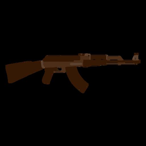 Ícone de fuzil de assalto AK 47 Transparent PNG