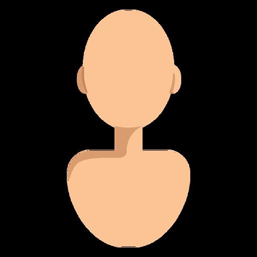 Bald head avatar Transparent PNG