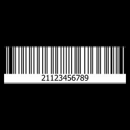 Modelo de etiqueta de código de barras
