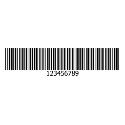 Bar code sticker design
