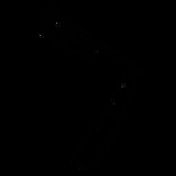 Icono de maquinilla de afeitar de peluquero