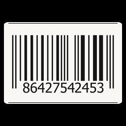 Elemento de design de código de barras