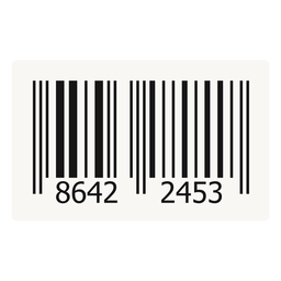 Barcode label design