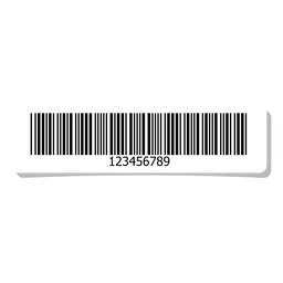 Barcode label design template