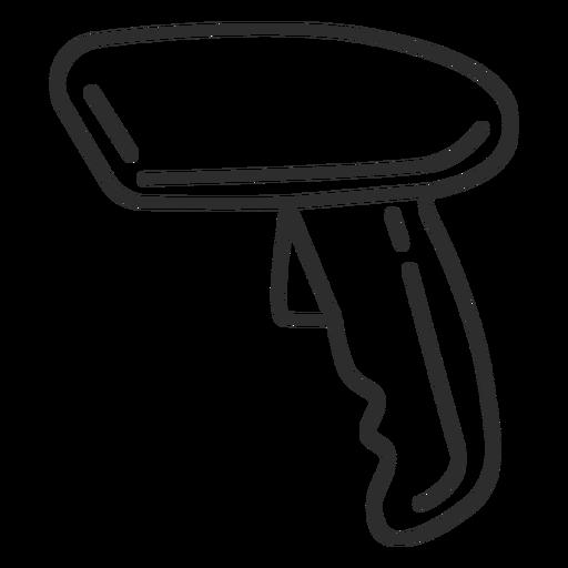 Icono de lector de código de barras