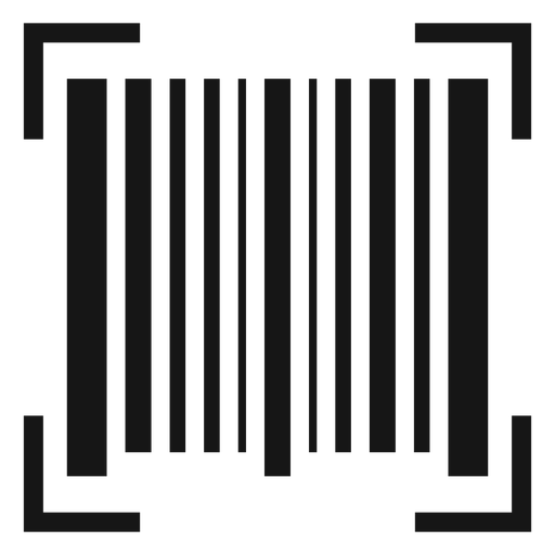 Barcode scan icon Transparent PNG