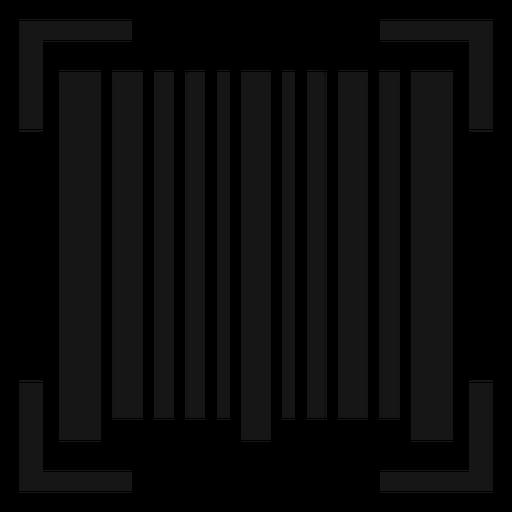 Icono de escaneo de código de barras Transparent PNG