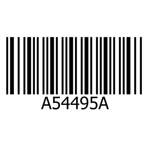 Barcode sticker template - Transparent PNG & SVG vector