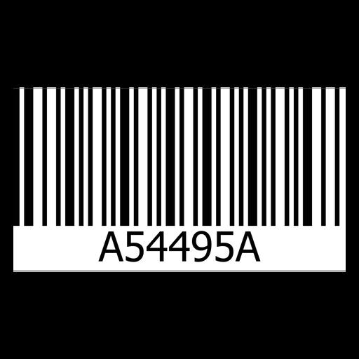 Plantilla de etiqueta de código de barras Transparent PNG