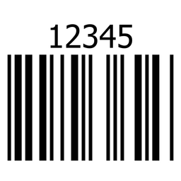 Basic barcode label