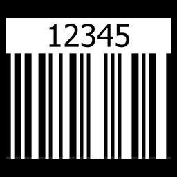 Etiqueta de código de barras básica