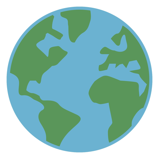 Basic earth icon Transparent PNG