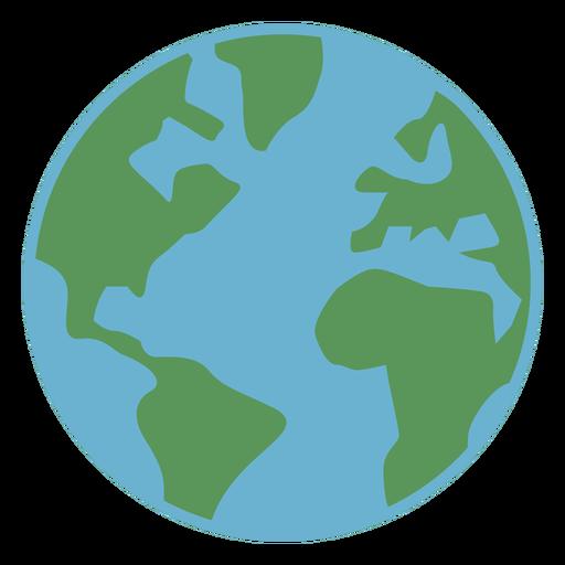 Icono básico de la tierra Transparent PNG