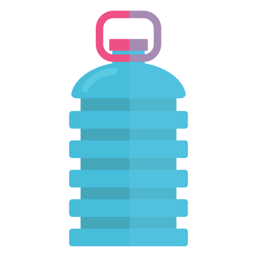 Gran botella de icono de agua Transparent PNG