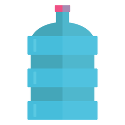 Big water bottle icon