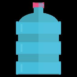 Icono de botella de agua grande