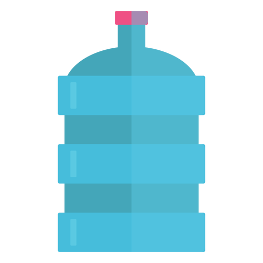 Big water bottle icon Transparent PNG