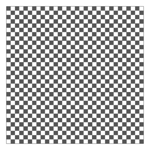 Black and white square grid - Transparent PNG & SVG vector