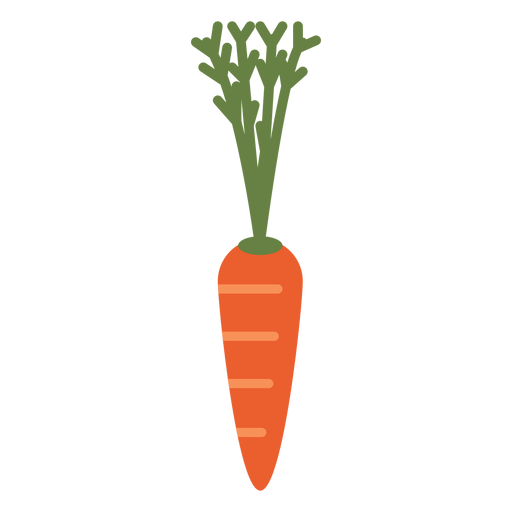 Carrot design element Transparent PNG