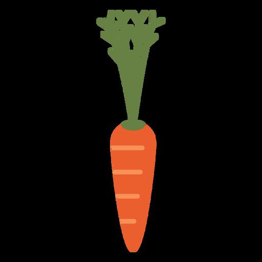 Elemento de design de cenoura Transparent PNG