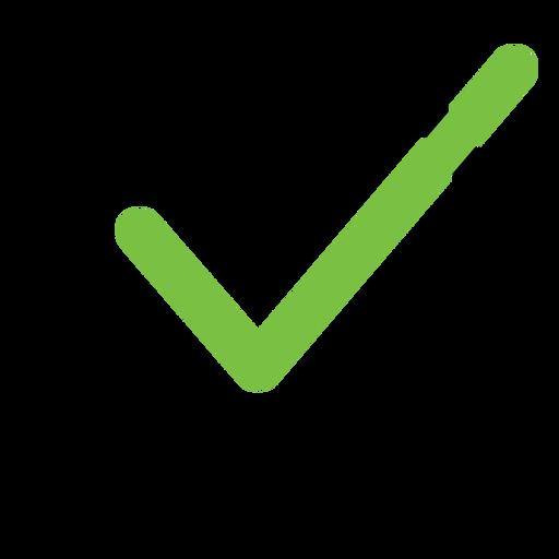 Ícone de marca de seleção Transparent PNG