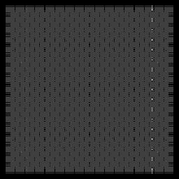 Projeto da grade da placa de xadrez
