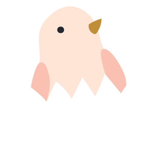 Frango em ícone de casca de ovo Transparent PNG