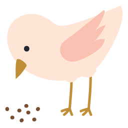 Chicken pecking icon