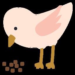 Icono de picoteo de pollo