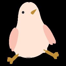 Icono de pollo sentado