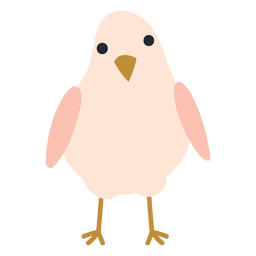 Chicken standing icon