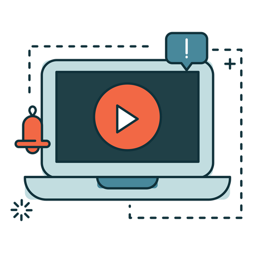 Banner de marketing de computadora Transparent PNG